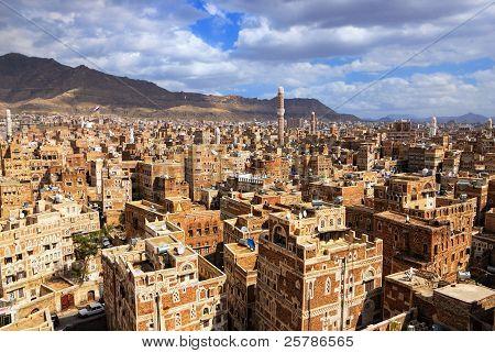 Sanaa, the capital of Yemen