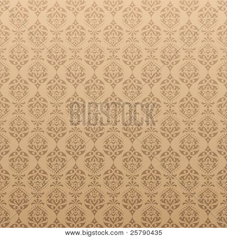 Vector Seamless Retro Background