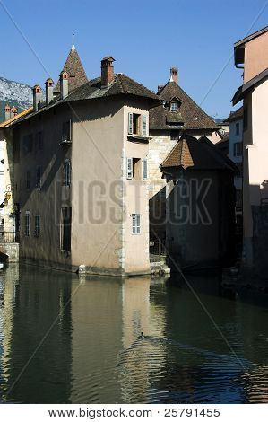 Old Town Of Annecy