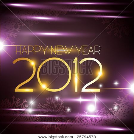 vector new year golden style background