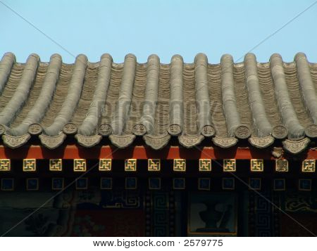 Details Of Temple Roof