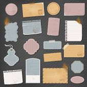 Different paper objects for your design