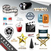 image of mm  - Cinema Design Elements and Icons - JPG