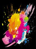 Постер, плакат: Вектор красочные гранж фоны