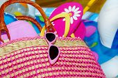 picture of floaties  - Beach Bag - JPG