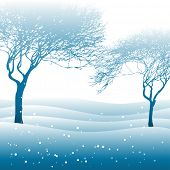 stock photo of paysage  - winter landscape - JPG