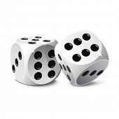 stock photo of crap  - Dice - JPG