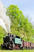 foto of former yugoslavia  - steam freight train - JPG
