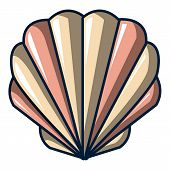 Shell Icon. Cartoon Illustration Of Shell Icon For Web poster