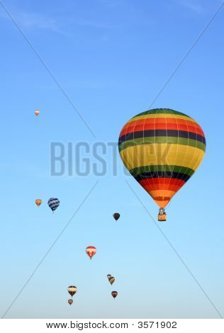 Hot Air Balloons Competition