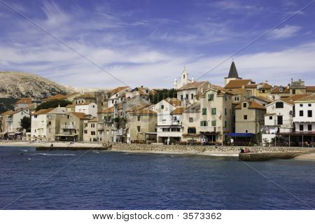 Beautiful Baska Old Town