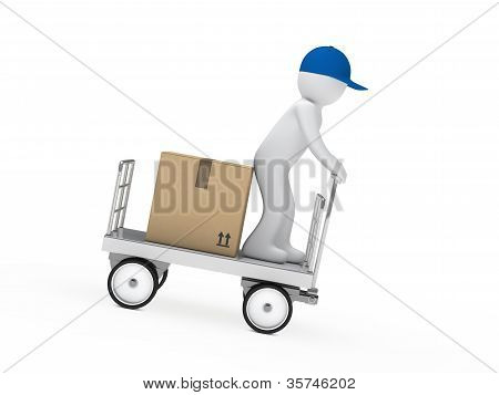 Figure Drive A Trolley