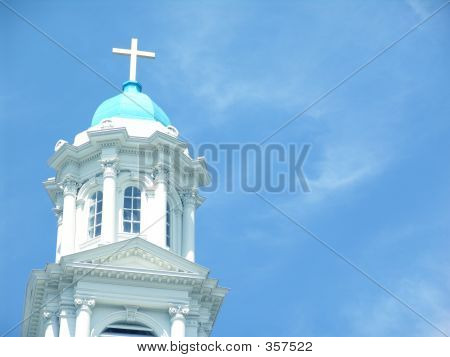 Tabernacle On The Blue Sky