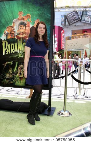 LOS ANGELES - AUG 5:  Sianoa Smit-McPhee arrives at the