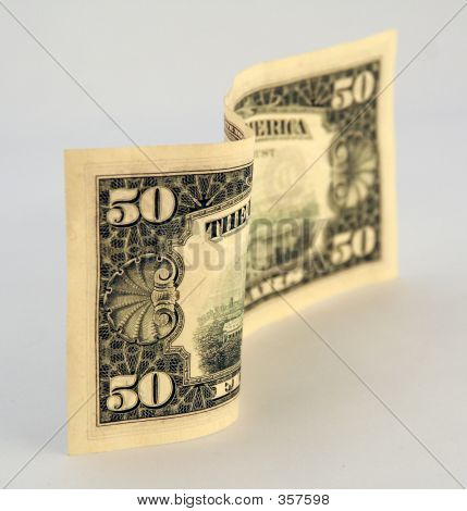 American Money 50 Fifty Dollar Bill