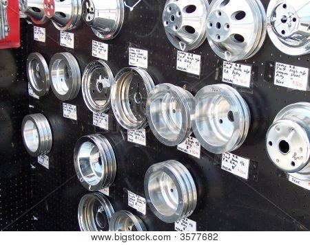Classic Car Parts Wall