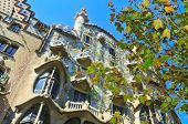 BARCELONA, SPAIN - AUGUST 16: Casa Batllo on August 16, 2011 in Barcelona, Spain. The famous buildin