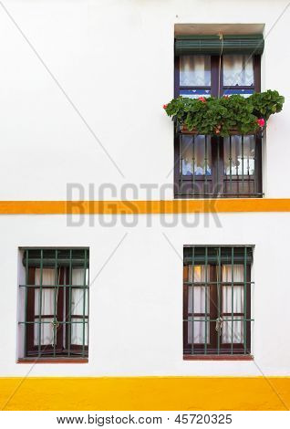 Old house in Seville, Spain