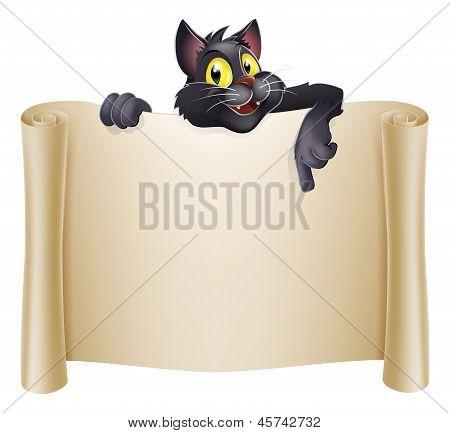 Halloween Cat Banner