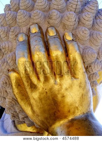 Hand of a Buddha Statue
