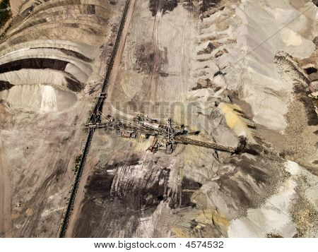 Dust Deposition, Aerial View