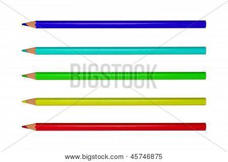 Colored Bright Pencils