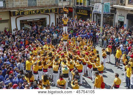 Castellers Barcelona 2013