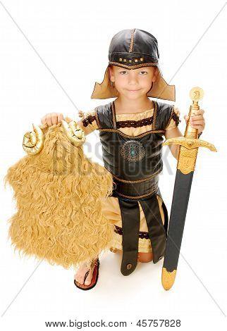 Boy in a Spartan