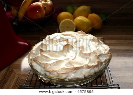 Yum! Hot Lemon Meringue Pie.