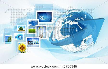 Globe Tablet World