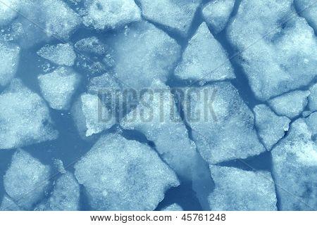 Gebrochenes Eis
