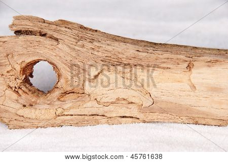 Driftwood As Background