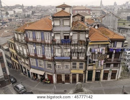 Oporto Traditional Houses