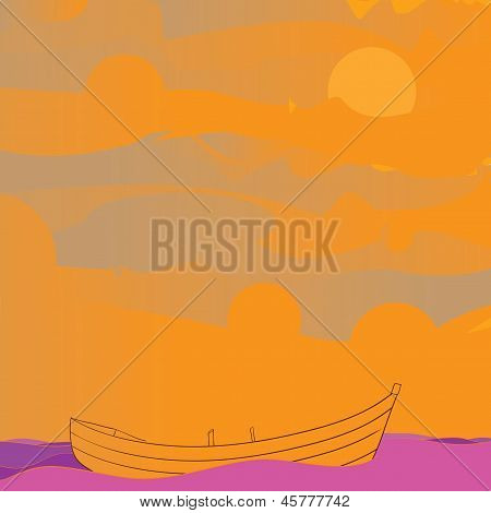 Boat And Sky