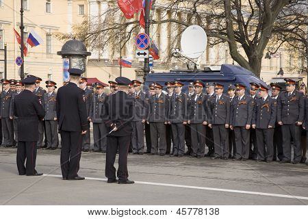 Police Officers Of The City Of St. Petersburg.
