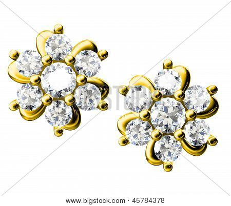The Beauty Diamond Earrings