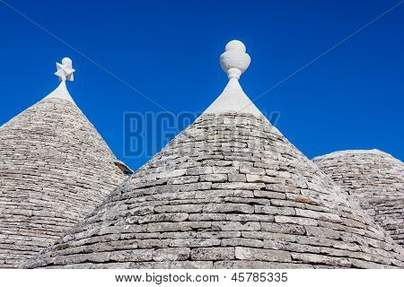Rooftop Of Trulli