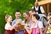 pic of lederhosen  - In Beer garden in Bavaria - JPG