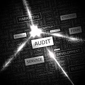 stock photo of financial audit  - AUDIT - JPG