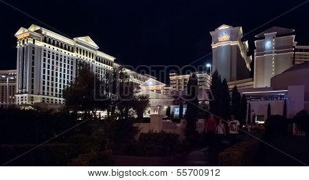 Las Vegas, Usa - Caesars Palace Hotel Facade