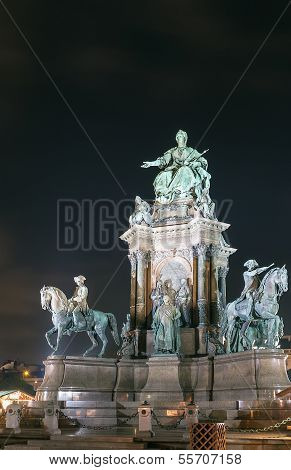 Monument To Maria Theresa, Vienna
