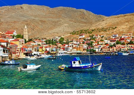 colors of Greece series - Halki island