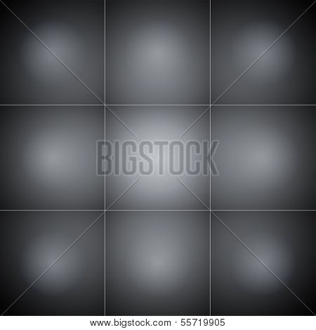 Gray squares abstract background