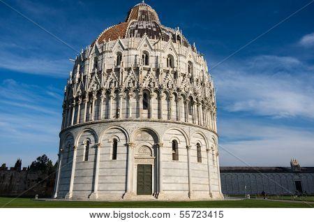 Piazza Dei Miracoli At Pisa