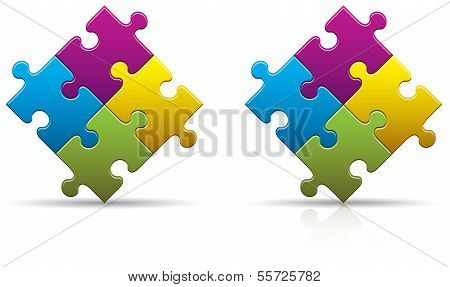Puzzle Pieces Blank