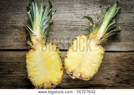 Pineapple Cross Section