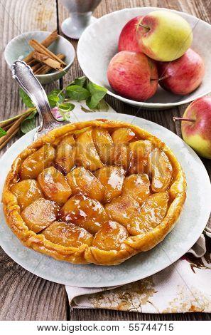 apple tart - tarte tatin