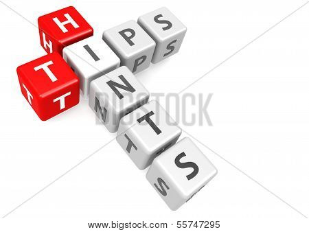 Tips and hints in cube