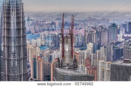 shanghai with height