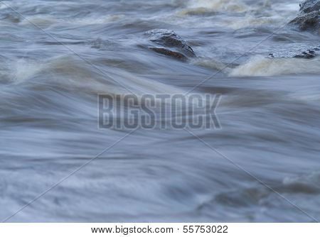 Full Frame of Flowing Water